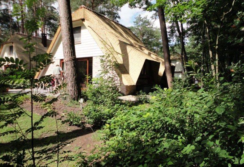 Dit vakantiehuis in Rekem (België) ligt in het Nationaal Park De Hoge Kempen.